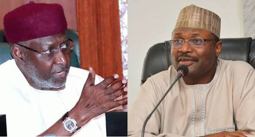 Why Did INEC Chairman Meet Buhari's Chief of Staff Privately?
