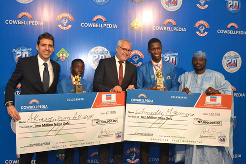 Playing Football Helps My Mathematics Skills – Cowbellpedia Champion