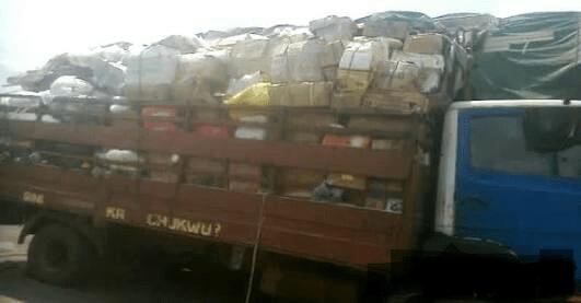 Customs Seizes Truckload Of Weapons, Codeine, Tramadol