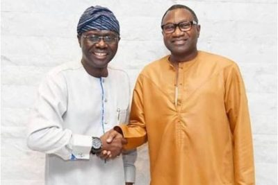 'He's my childhood friend' — Otedola endorses Sanwo-Olu