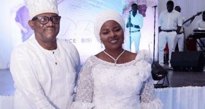 PHOTOS: Double celebration as Bisi Olatilo turns 65, marks wedding anniversary