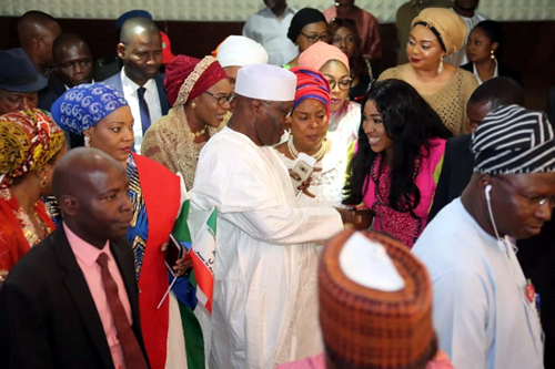 'I won't put you in the other room' — Atiku begs women for support