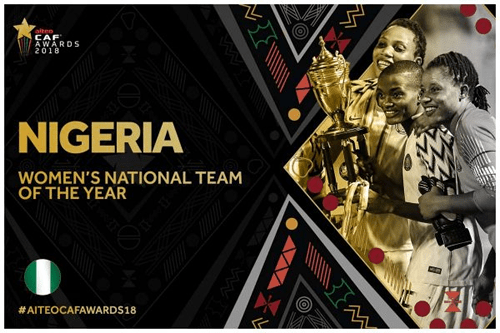 2018 CAF awards full list of winners