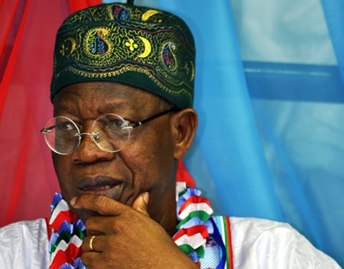 Fraud In NBC: Parties Call For Lai Mohammed's Arrest