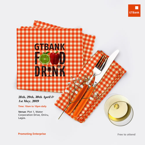 GTBank Food And Drink Fair 2019: Apply For Press Pass Accreditation