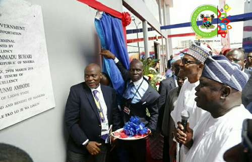 Buhari Commissions Ambode's Big Projects Today (Photos)