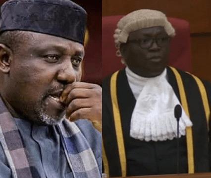 Okorocha arrives NASS complex, denied accreditation