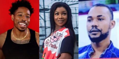 2019 BBNaija: Tacha, Ike, Joe receive strike from Biggie