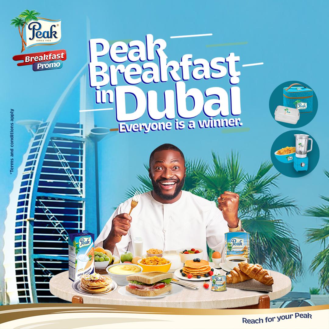 Peak Milk set to reward consumers with Dubai breakfast experience