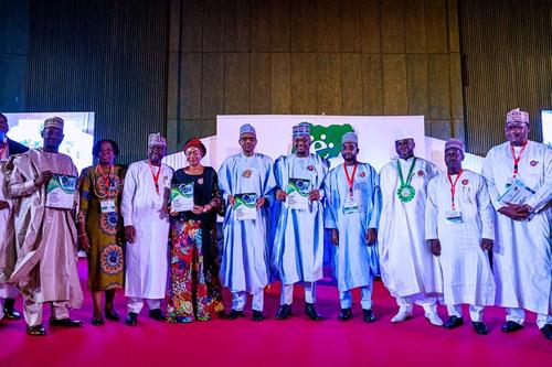 President Buhari declares open 12th annual NITDA e-Nigeria conference