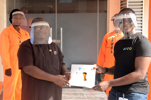 PHOTO NEWS: Lagos Waste Management Authority (LAWMA)