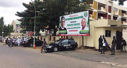 Police seal APC national secretariat