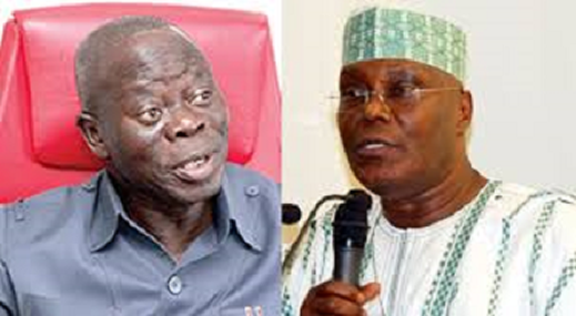 Oshiomhole kicked against fuel subsidy removal under Obasanjo - Atiku