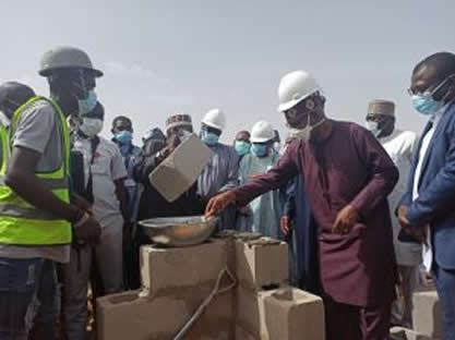 COVID-19: NNPC lays foundation for 200-bed hospital in Borno