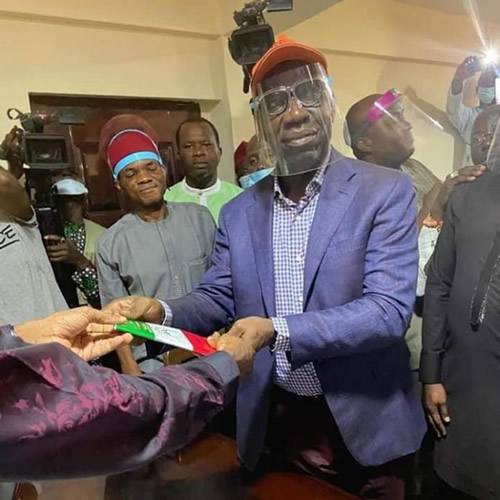 OFFICIAL: Obaseki formally defects to PDP