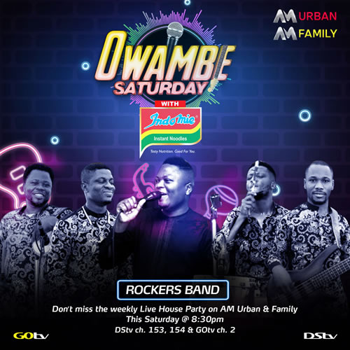 "Enjoy that party vibe with the Africa Magic ""Owambe"" Groove"