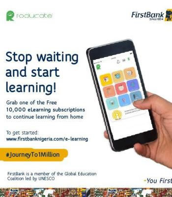 E-Learning: Firstbank Partners With Robert & John, Others To Ensure Initiative Moves Across The Country