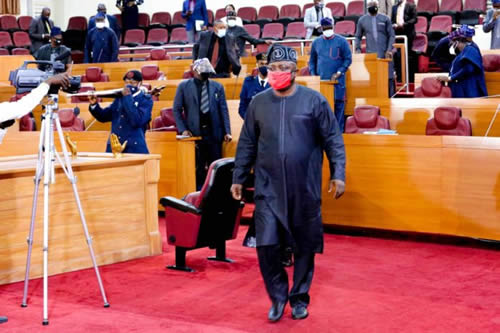 Gloomy faces as Lagos Assembly mourns Tunde Braimoh with valedictory session