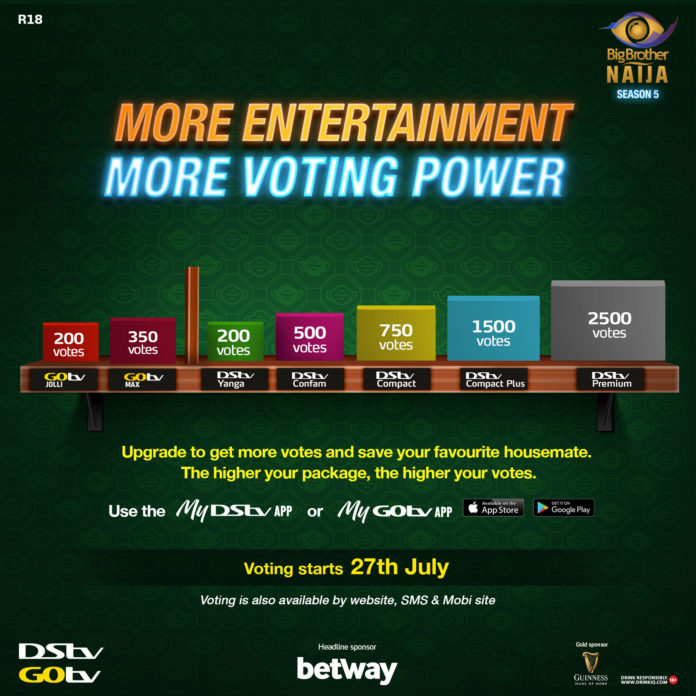 BBNaija S5: New tiered voting helps you keep your fave in the house