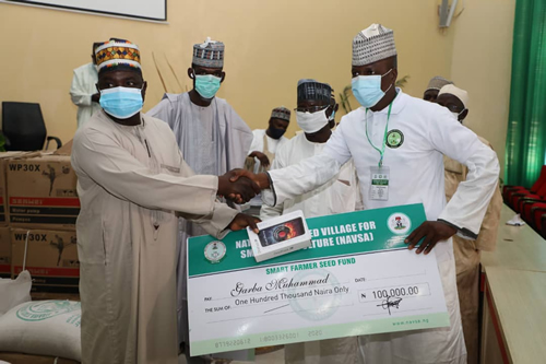 Digital Economy: NITDA adopts 130 farmers, disburses funds to beneficiaries
