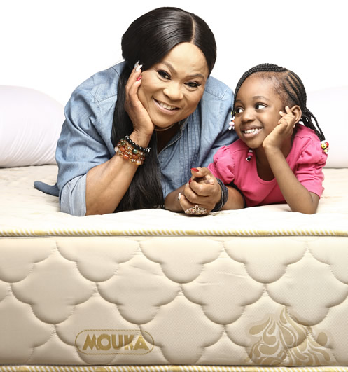 Nollywood Superstar, Sola Sobowale, Attributes Present Physical Fitness to Regular Use of Mouka Brand