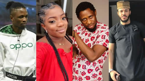 BBNaija Lockdown: Laycon, Trikytee, Ozo and Dorathy to fight for a place in the top five
