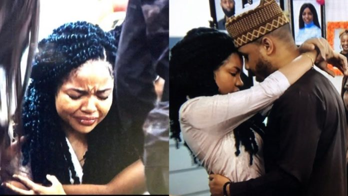 Nengi in tears as 'boyfriend' Ozo is evicted from BBNaija Lockdown House