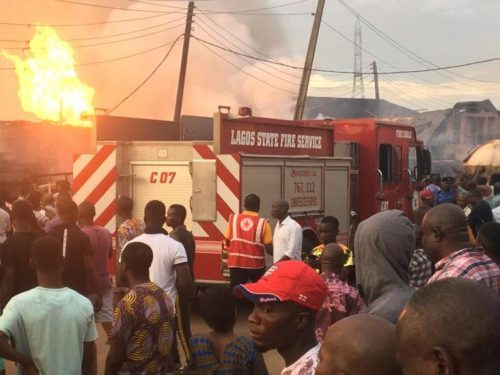 Eight confirmed dead, 25 buildings affected in Lagos gas explosion
