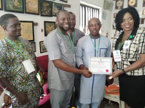 Oyewale Femi emerges NAOSRE President, vows to set the pace for security reportage