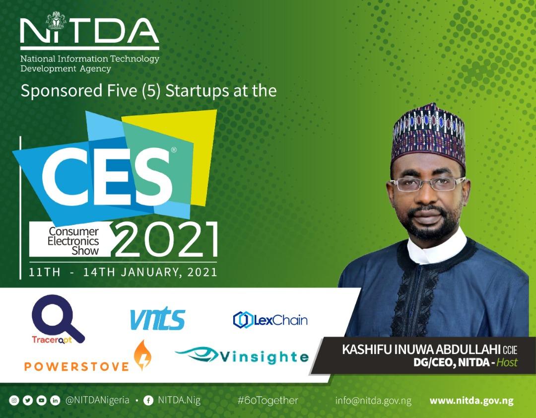 NITDA Features5 StartupsattheDigitalCES 2021