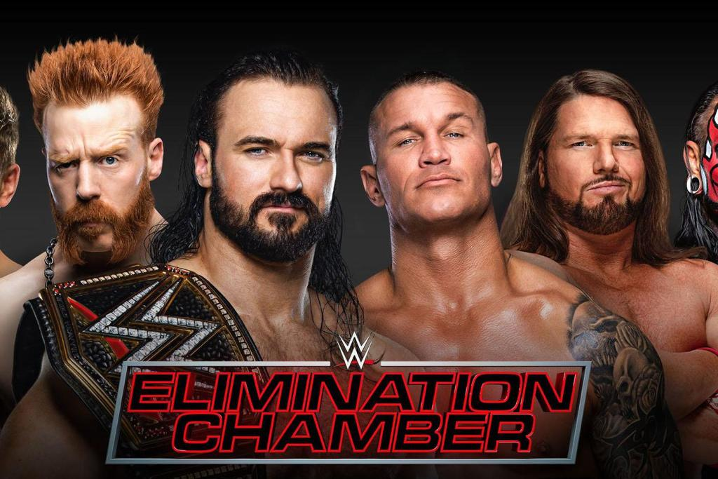 Don't Miss The WWE Elimination Chamber Match On DStv and GOtv!