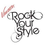 logo design type treatment. rock