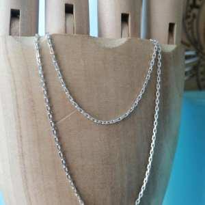 Sterling Silver 2mm Anchor Link Chain