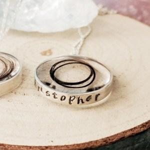 Sterling Silver Keepsake Manati Necklace