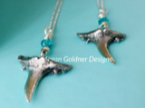 Sterling Silver Shark Tooth Necklace - Ragged Tooth Shark