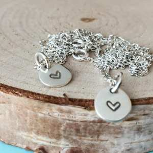 Sterling Silver Dainty Coin Necklace