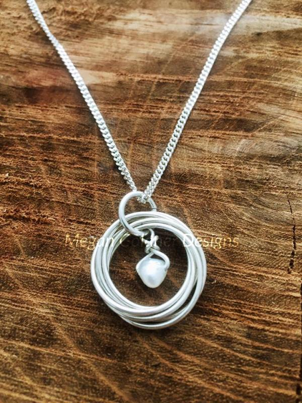 Sterling Silver Decades Necklace
