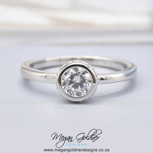 Sterling Silver Keepsake Memory Ring