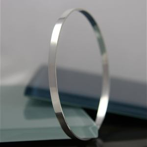 Sterling Silver Bangle 4mm