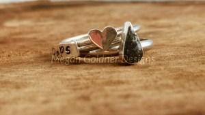 Sterling Silver Keepsake Ring Set