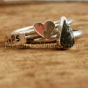 Sterling Silver Keepsake Ring Set