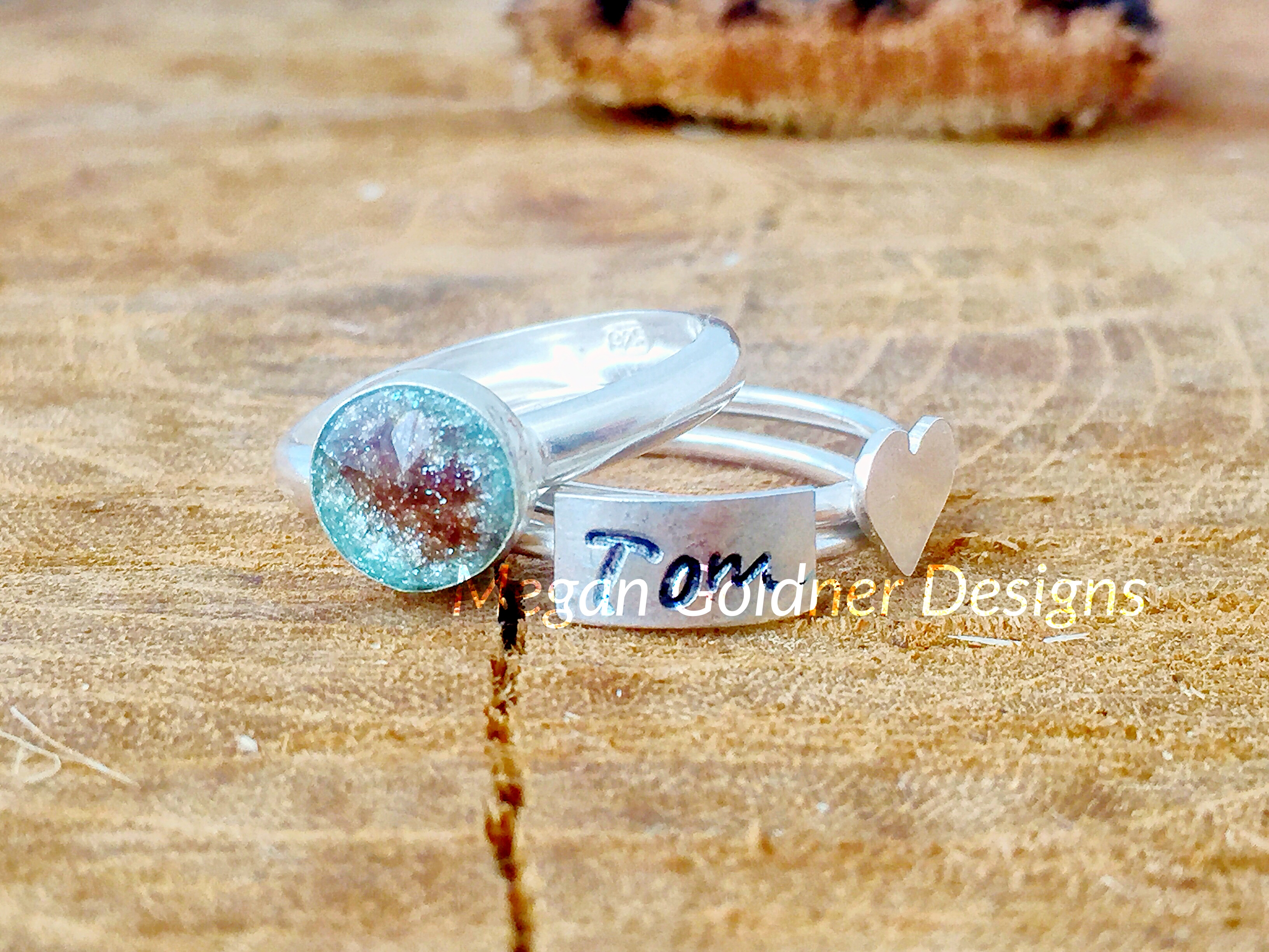 Sterling Silver Keepsake Original Ring Set