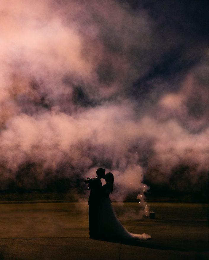 houston wedding photographer fireworks