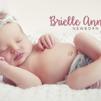 Brielle's Newborn Baby Pictures