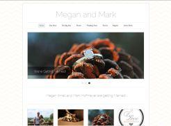 Modern/Trendy Wedding Website