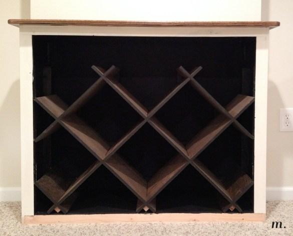 DIY Plans Diamond Wine Rack Wooden PDF bar plans free