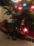 Only Ted can bring out the Christmas Train. Quint asks for this train at least 4 times a month until Christmas returns.