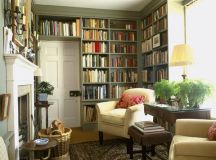 10 Ideas for a Stylish & Functional Home Library