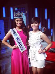 miss world megan young in indonesia