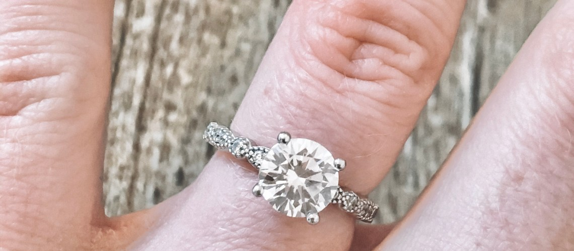 My NEW Engagement Ring